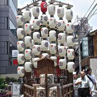祇園祭霰天神山
