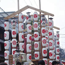 祇園祭鯉山