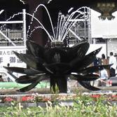 東本願寺前噴水