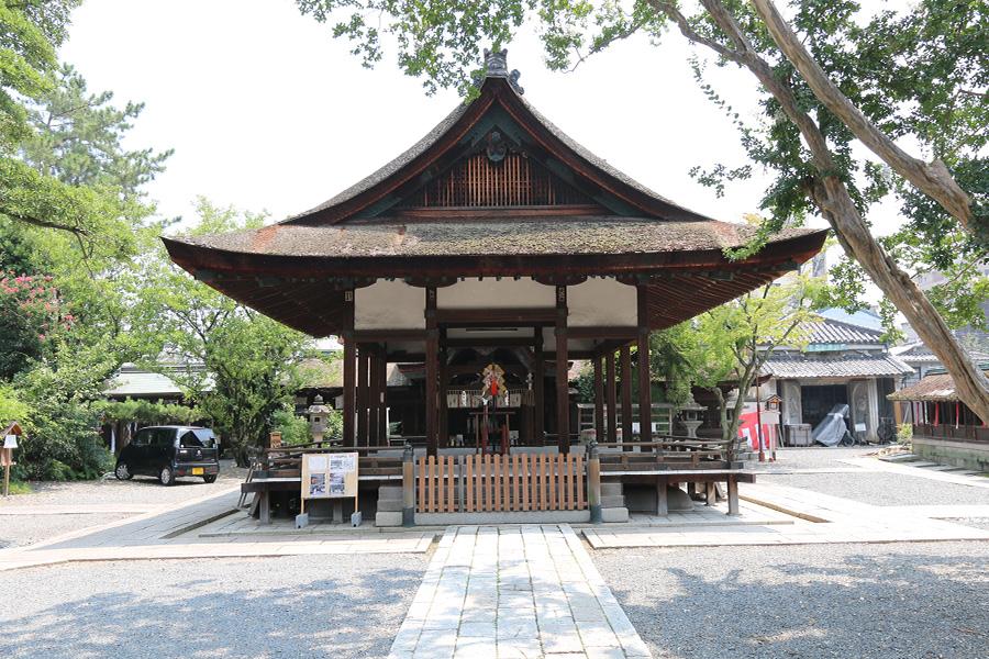 神社 京都 御霊